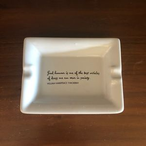 """""""Good humour is....."""" Ceramic Ring Plate"""
